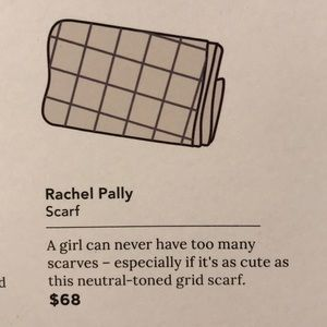 Rachel Pally scarf (light) NWOT